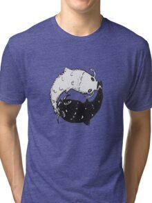 Yin & Yang Koi Tri-blend T-Shirt