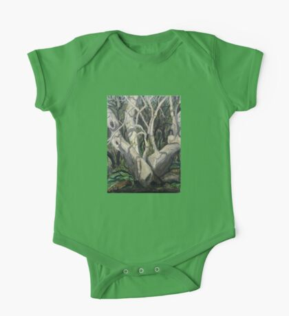 Sycamore Tree in Peppersauce Canyon, Arizona One Piece - Short Sleeve