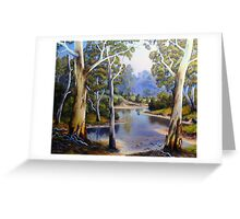 Winding River Greeting Card