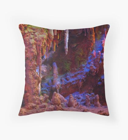 Psychedelic Nature Throw Pillow