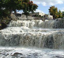 Glen Falls by Bonita Dubil