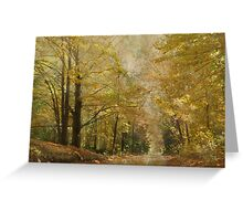 Road With a View Greeting Card
