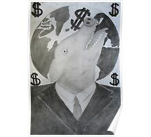 Capitalist Pig Poster