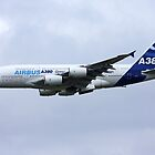Airbus A380 Cleanup by Richard Hanley www.scotland-postcards.com