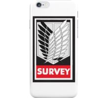 Survey Corps iPhone Case/Skin