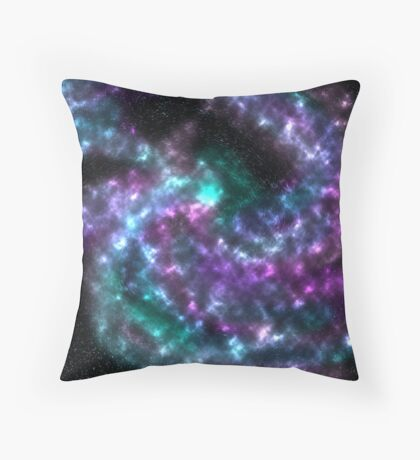 Spiral Scale Throw Pillow
