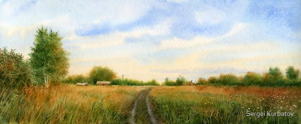Country road by Sergei Kurbatov