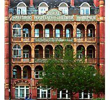 Waterloo - Royal Hospital for Children & Women (Schiller University) Photographic Print