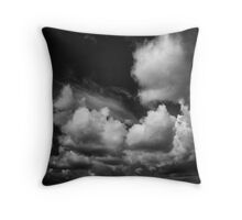 Hearts and roses of the sky Throw Pillow