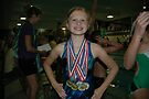 Ava, My Mermaid Champ! High Point Winner In The 8 & Under Category, YMCA Powel Crosley Meet, 2009!  by Ainsley Kellar Creations