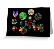 """""""YANKEE DOODLES""""  VIEW IN LARGE FORMAT Greeting Card"""