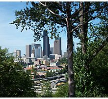 Seattle, as seen on Beacon Hill Photographic Print