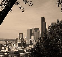 Seattle In Sepia by Jess Mo