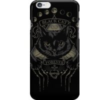 Black Cat Cult iPhone Case/Skin