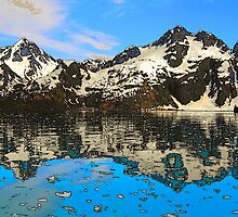 Ailik Bay, Kenai Fjords National Park, Stylized by Bob Moore