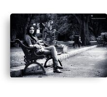 Sherry Sherry Lady Canvas Print