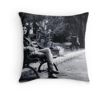 Sherry Sherry Lady Throw Pillow