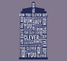 Run you clever boy Kids Tee