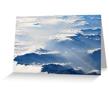 Sky High Greeting Card