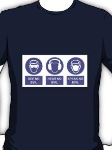 See, Hear & Speak No Evil T-Shirt