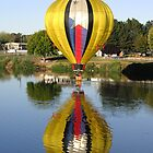 Balloon on water by William Newland
