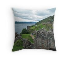 Urqhuart Castle 3 Throw Pillow