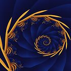 Spiral:  Amber Waves of Grain by myxtl