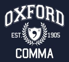 Oxford Comma by ciaokatie