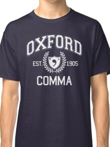 Oxford Comma Classic T-Shirt