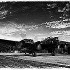 """Lancaster Bomber """"Just Jane"""" by Chris Tait"""