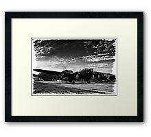 """Lancaster Bomber """"Just Jane"""" Framed Print"""