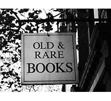 Bookshop Photographic Print