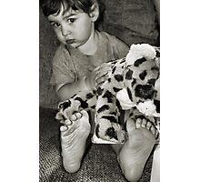 Stuffed Photographic Print