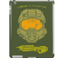 I need a weapon. iPad Case/Skin