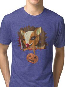 Pumpkin Hunter Tri-blend T-Shirt
