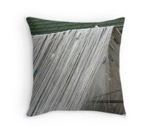 Fishnet Drying Throw Pillow