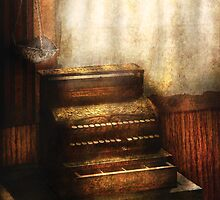 An old Cash Register by Mike  Savad