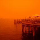 Manly Wharf, Sydney, Australia Severe sandstorm by Of Land & Ocean - Samantha Goode