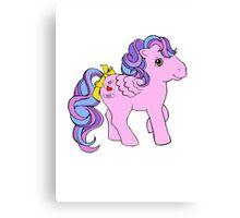 Classic My Little Pony Canvas Print