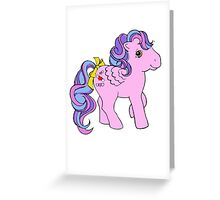 Classic My Little Pony Greeting Card