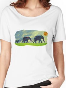 Elephant Family Women's Relaxed Fit T-Shirt