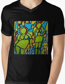 Part of the Pattern Mens V-Neck T-Shirt