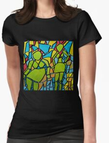 Part of the Pattern Womens Fitted T-Shirt