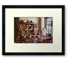 For the Master Chef  Framed Print