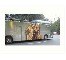 sexy bus Art Print