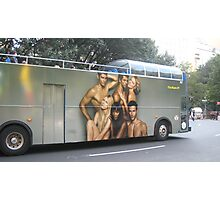 sexy bus Photographic Print
