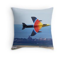 Hunter Miss Demeanor Throw Pillow