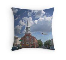 Ferry St, Newark New Jersey Throw Pillow
