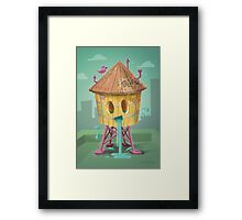 Happy Brooklyn Water Tower Framed Print