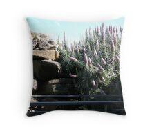Echium Fastuosum Throw Pillow